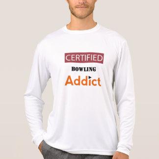 Certified Bowling Addict T-Shirt