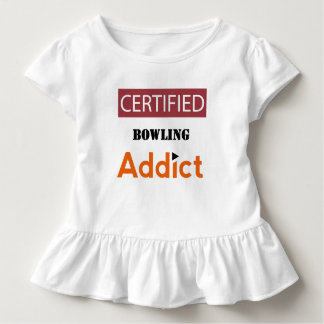 Certified Bowling Addict Tee Shirt
