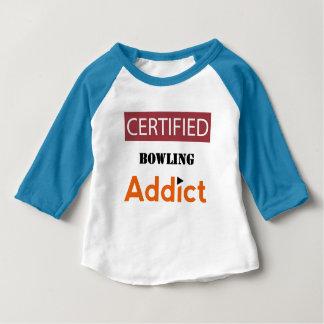 Certified Bowling Addict Tshirts