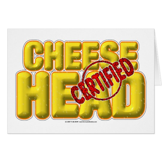 Certified CheeseHead Card