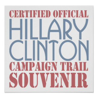 Certified Clinton Poster
