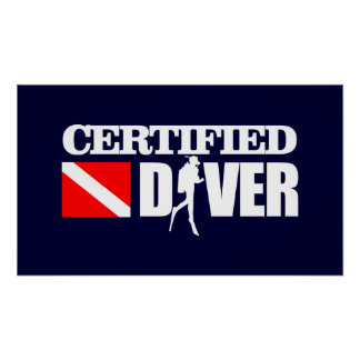 Certified Diver 2 Poster