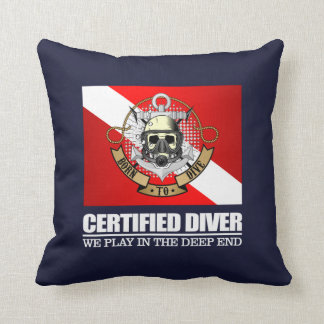 Certified Diver (BDT) Cushion