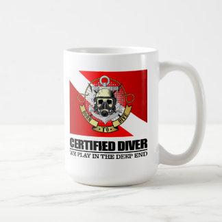 Certified Diver (BTD) Coffee Mug