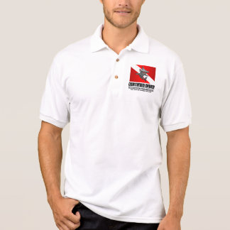 Certified Diver (Food Chain) Apparel Polo Shirt