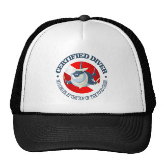 Certified Diver (Food Chain) Cap