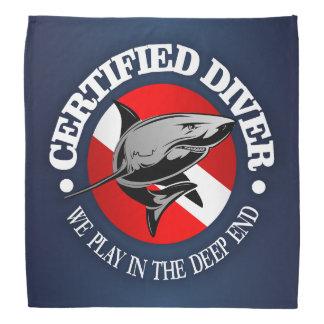 Certified Diver (Shark) Bandana