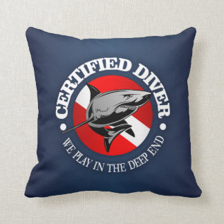 Certified Diver (Shark) Cushion
