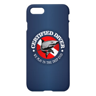 Certified Diver (Shark) iPhone 8/7 Case