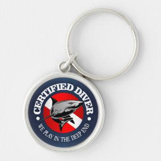 Certified Diver (Shark) Key Ring
