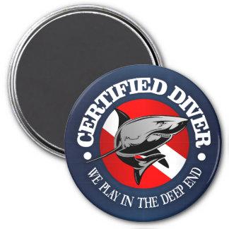 Certified Diver (Shark) Magnet