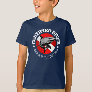 Certified Diver (Shark) T-Shirt