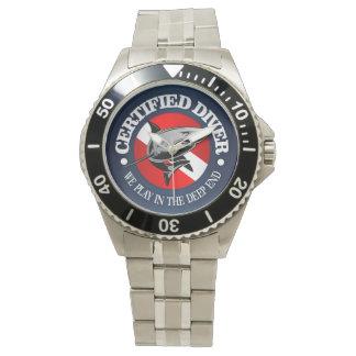 Certified Diver (Shark) Watch