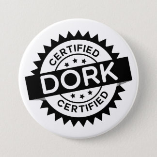 Certified Dork Button