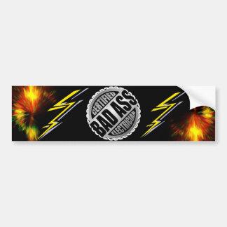 Certified Electrician Bumper Sticker