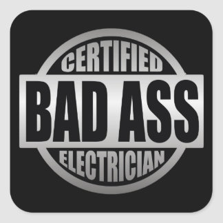 Certified Electricians sticker