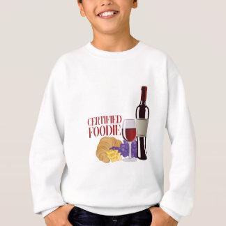 Certified Foodie Sweatshirt