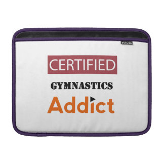 Certified Gymnastics Addict MacBook Air Sleeve