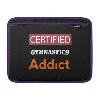 Certified Gymnastics Addict MacBook Sleeves