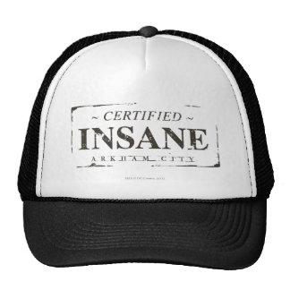 Certified Insane Stamp Mesh Hats