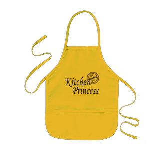 Certified Kitchen Princess Kids Apron