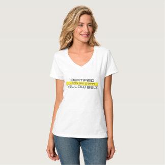 Certified Lean Six Sigma Yellow Belt Womens Tee
