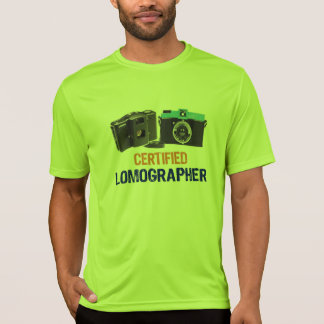 'Certified Lomographer' Photography T-Shirt