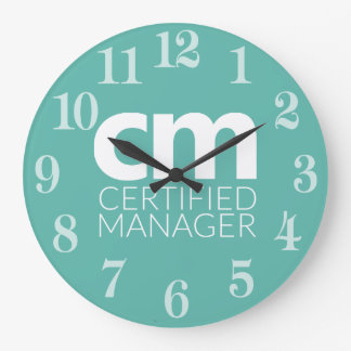 Certified Manager Clock