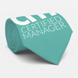 Certified Manager Gentleman's Tie