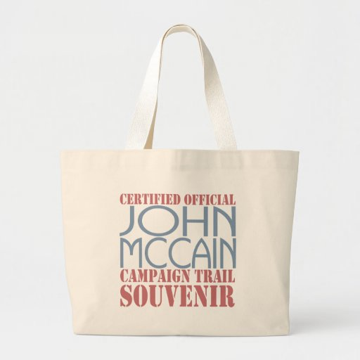Certified McCain Canvas Bag