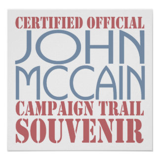 Certified McCain Poster
