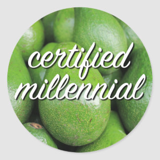Certified Millennial Sticker