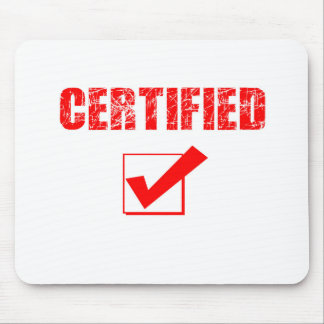 certified mousepad