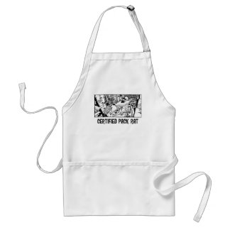 Certified Pack Rat Standard Apron