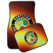 Certified Pickleball Lover 1 Options Floor Mats