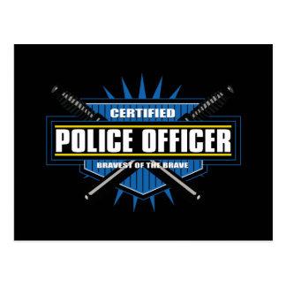 Certified Police Officer Postcard