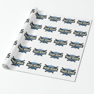 Certified Police Officer Wrapping Paper