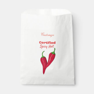 Certified Spicy Hot Thunder_Cove Favour Bag