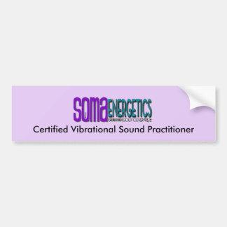 Certified Vibration Sound Practitioner bumper stic Bumper Sticker