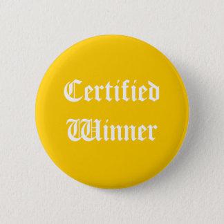 Certified Winner Button