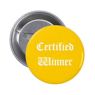 Certified Winner Button