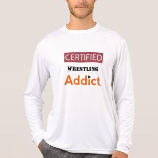 Certified Wrestling Addict T-Shirt