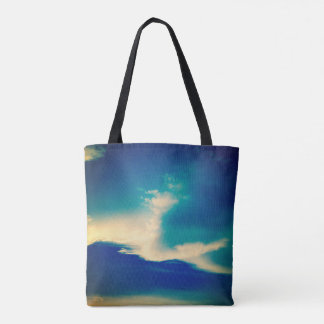 Cerulean Sky Cloud Tote