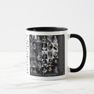 CERVANTES, I suppose? - Mug-400 Years QUIXOTE taza Mug