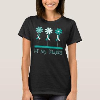 Cervical Cancer Awareness Daughter Womens T-shirt