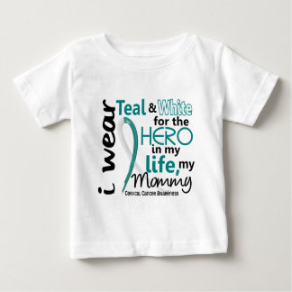 Cervical Cancer For My Hero My Mommy 2 Shirts