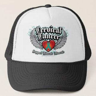 Cervical Cancer Wings Trucker Hat