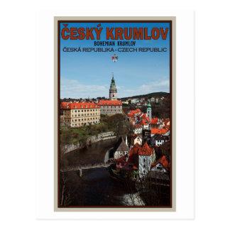 Cesky Krumlov - Vltava River Postcards