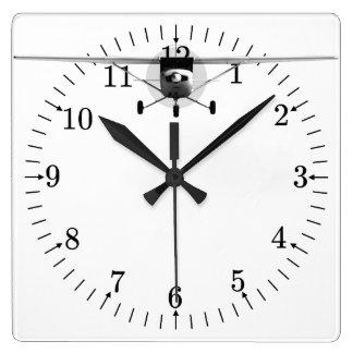 Cessna 152 square wall clock