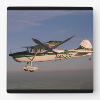 Cessna 170, 1953, Sonoma, CA_Classic Aviation Square Wall Clock